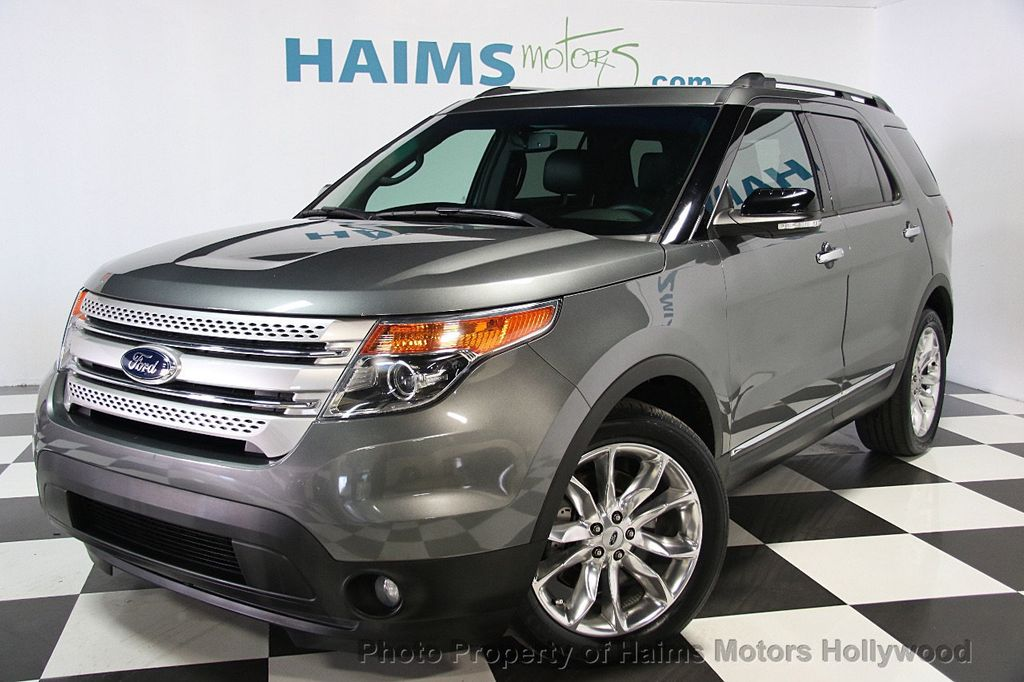 2014 used ford explorer fwd 4dr xlt at haims motors serving fort lauderdale hollywood miami. Black Bedroom Furniture Sets. Home Design Ideas