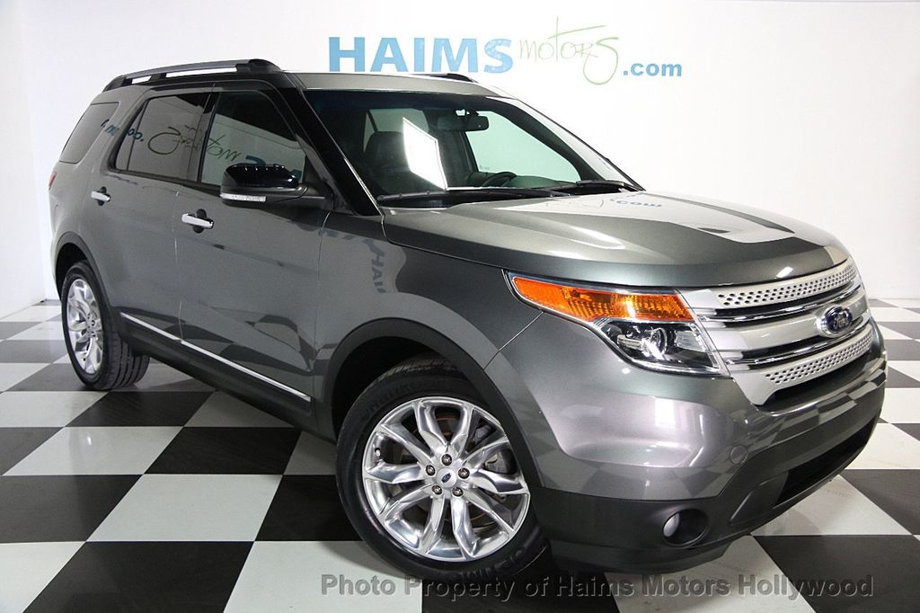 Used Diesel Trucks >> 2014 Used Ford Explorer FWD 4dr XLT at Haims Motors ...