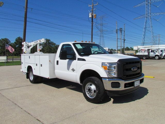 2014 Ford F350 Mechanics Service Truck 4x4 - 14383300 - 1