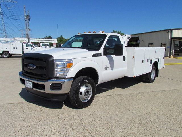 2014 Ford F350 Mechanics Service Truck 4x4 - 14383300 - 3