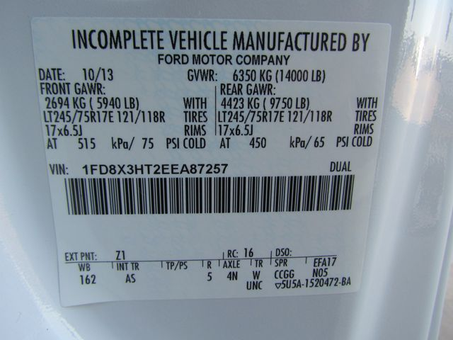 2014 Ford F350 Mechanics Service Truck 4x4 - 15047095 - 30