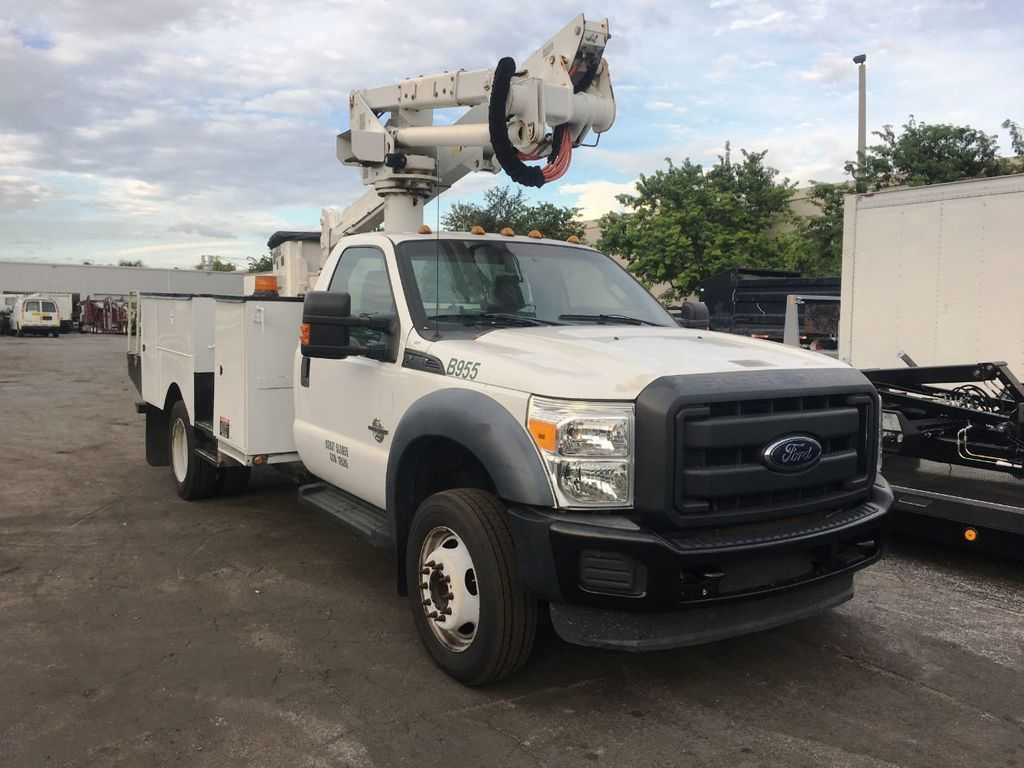 2014 Ford F550 ALTEC AT37-G BUCKET TRUCK .BOOM TRUCK - 18332214 - 1
