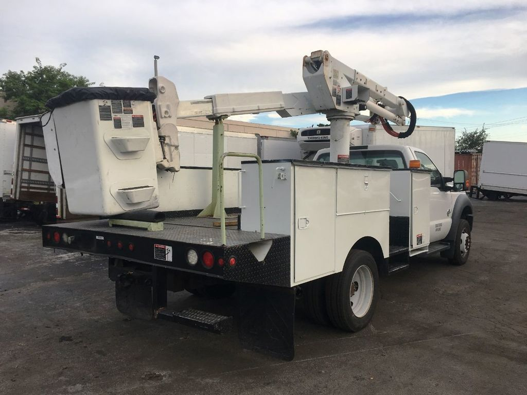 2014 Ford F550 ALTEC AT37-G BUCKET TRUCK .BOOM TRUCK - 18332214 - 3