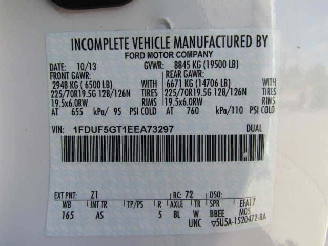 2014 Ford F550 Fuel - Lube Truck 4x4 - 12971032 - 28