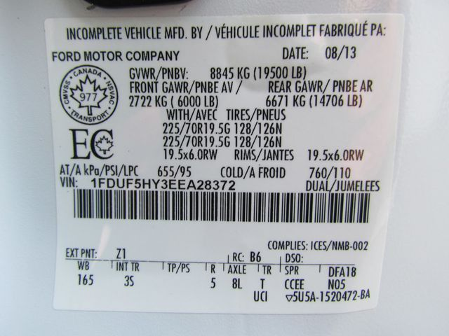 2014 Ford F550 Mechanics Service Truck 4x4 - 14660190 - 30