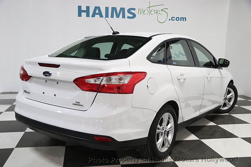 2014 used ford focus 4dr sedan se at haims motors serving fort lauderdale hollywood miami fl. Black Bedroom Furniture Sets. Home Design Ideas