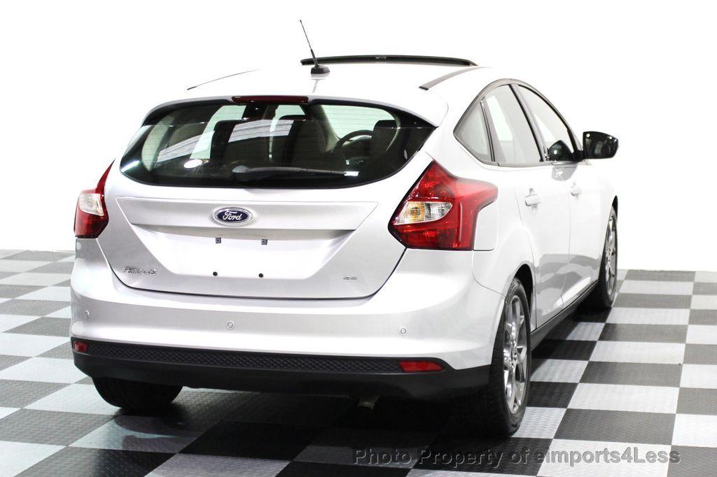 2014 Ford Focus CERTIFIED FOCUS SE HATCHBACK - 16067038 - 17  sc 1 st  eimports4Less & 2014 Used Ford Focus CERTIFIED FOCUS SE HATCHBACK at eimports4Less ... markmcfarlin.com