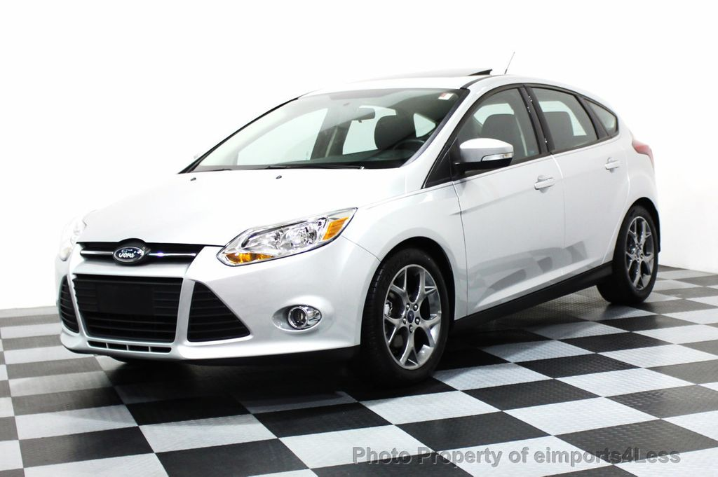 2014 used ford focus certified focus se hatchback at. Black Bedroom Furniture Sets. Home Design Ideas