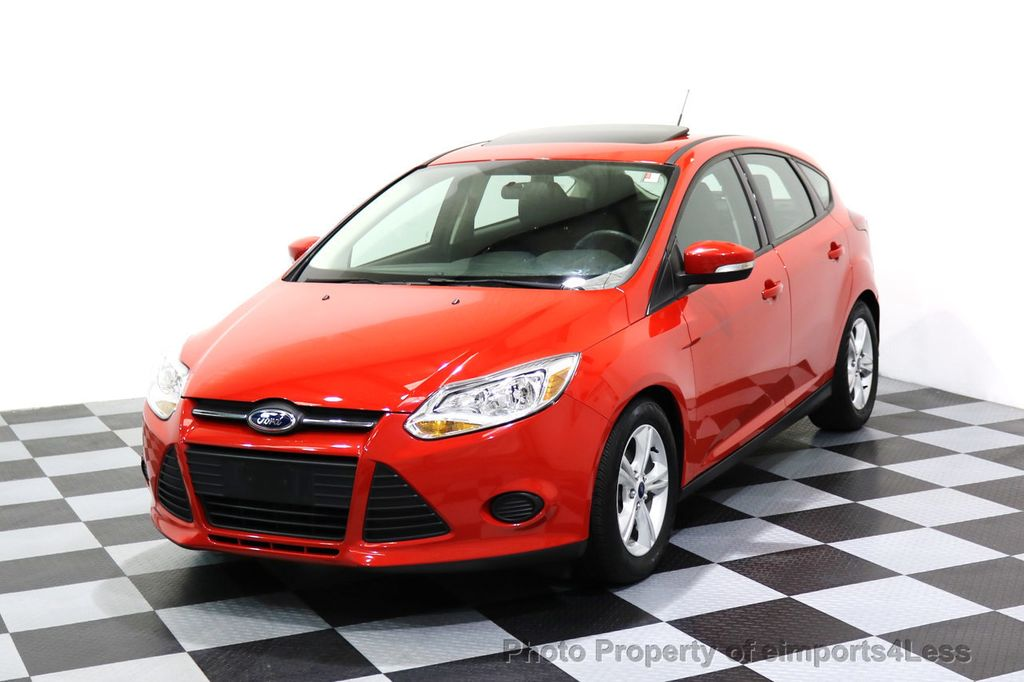 2014 Ford Focus CERTIFIED FOCUS SE SUNROOF - 17275699 - 0