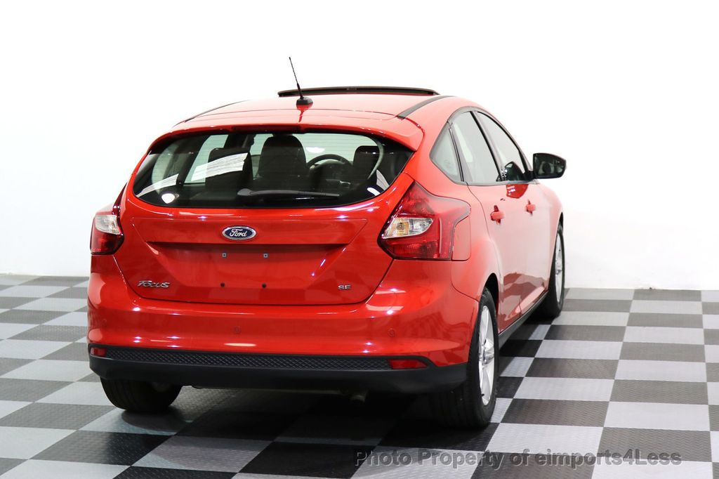 2014 Ford Focus CERTIFIED FOCUS SE SUNROOF - 17275699 - 28
