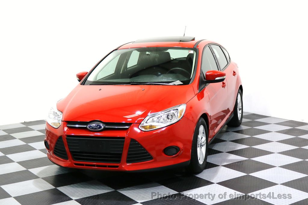 2014 Ford Focus CERTIFIED FOCUS SE SUNROOF - 17275699 - 40