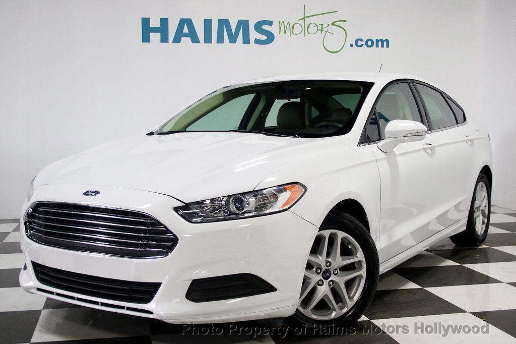 2014 Used Ford Fusion 4dr Sedan Se Fwd At Haims Motors