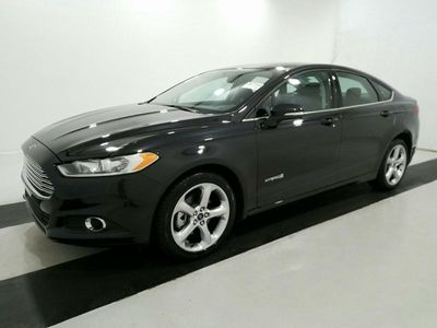 2014 Ford Fusion 4dr Sedan SE Hybrid FWD - Click to see full-size photo viewer
