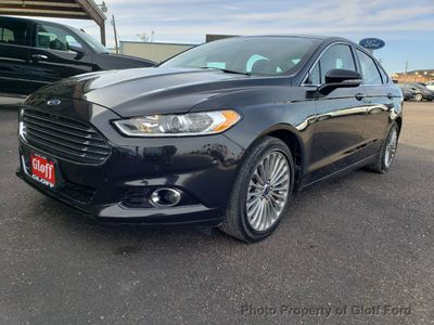2014 Ford Fusion 4dr Sedan Titanium AWD