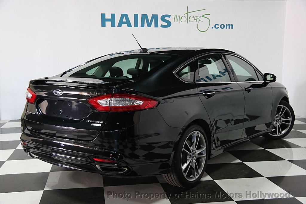 2014 used ford fusion 4dr sedan titanium fwd at haims motors ft lauderdale serving lauderdale. Black Bedroom Furniture Sets. Home Design Ideas