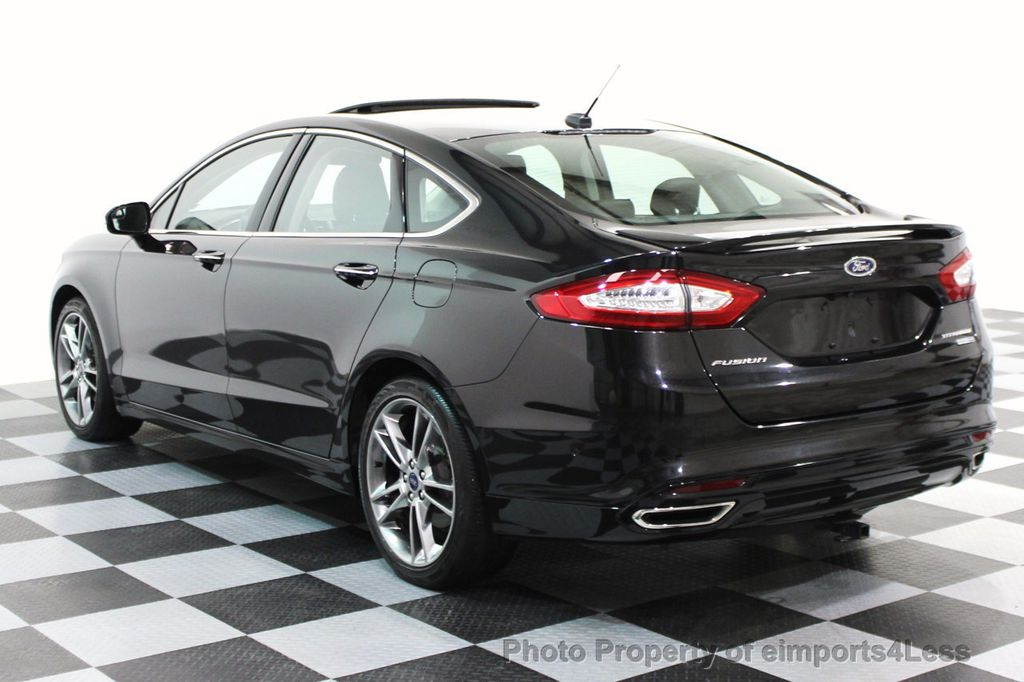 2015 Ford Fusion Rims >> 2014 Used Ford Fusion Certified Fusion Titanium Awd Sedan Camera