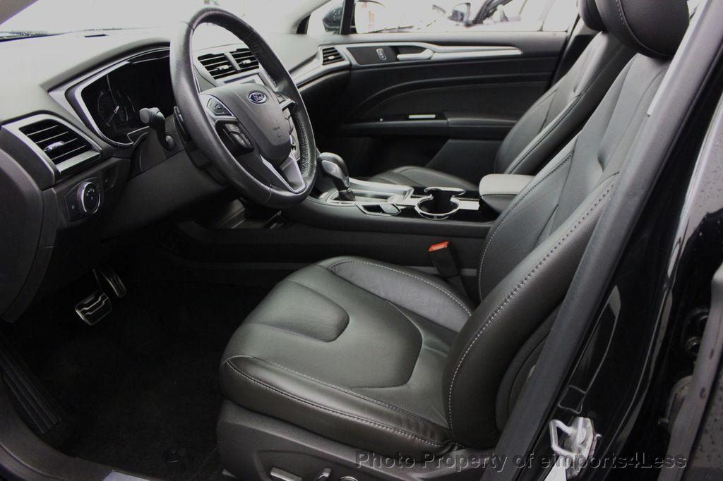 2014 Ford Fusion CERTIFIED FUSION TITANIUM AWD SEDAN CAMERA / NAV    15965932   4