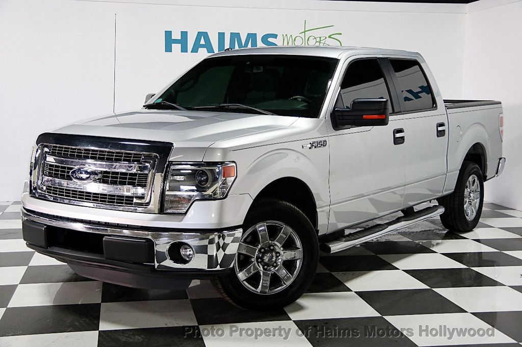 2014 used ford f 150 2wd reg cab 126 xlt at haims motors for Used ford truck motors