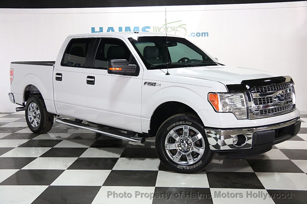 2014 Used Ford F 150 2wd Reg Cab 145 Xlt At Haims Motors Serving Fort Lauderdale Hollywood