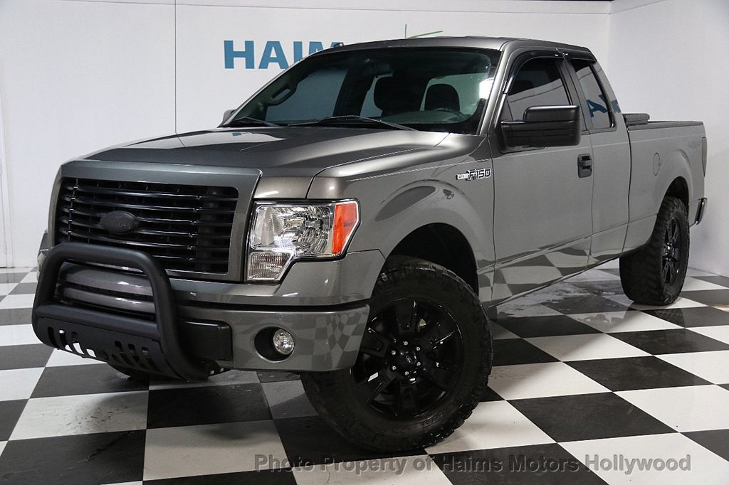 "2014 used ford f-150 2wd supercab 145"" xlt at haims motors serving"