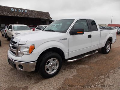 "2014 Ford F-150 2WD SuperCab 145"" XLT Truck"