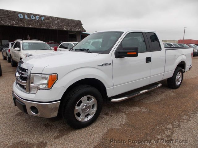 "2014 used ford f-150 2wd supercab 145"" xlt at gloff ford serving"