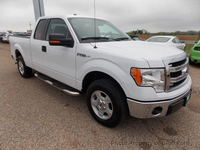 "2014 Ford F-150 2WD SuperCab 145"" XLT - Click to see full-size photo viewer"