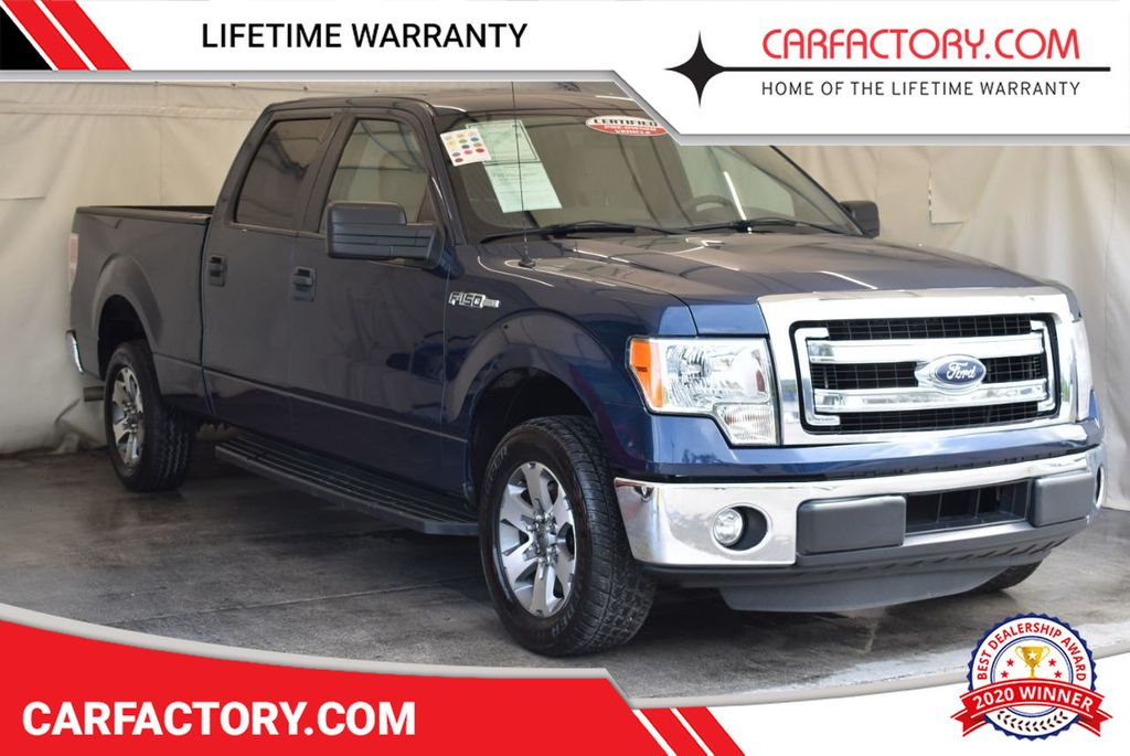 "2014 Ford F-150 2WD SuperCrew 145"" XLT - 17727715 - 0"