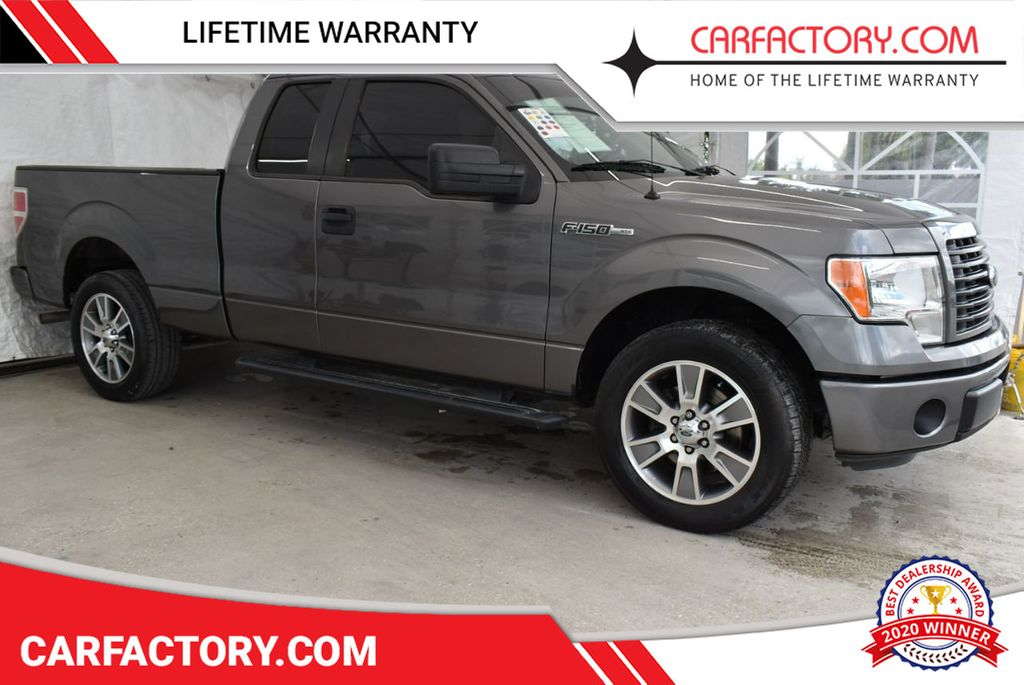 """2014 Ford F-150 2WD SuperCrew 145"""" XLT Truck Ford F-150 - 18649738 - 0"""