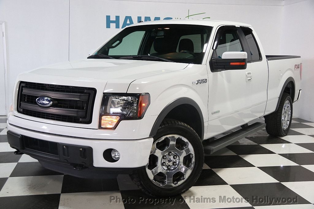2014 used ford f 150 4wd supercab 145 fx4 at haims motors