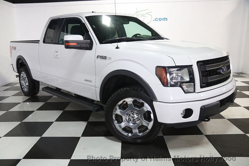 "2014 Ford F-150 4WD SuperCab 145"" FX4 - 16608204 - 2"