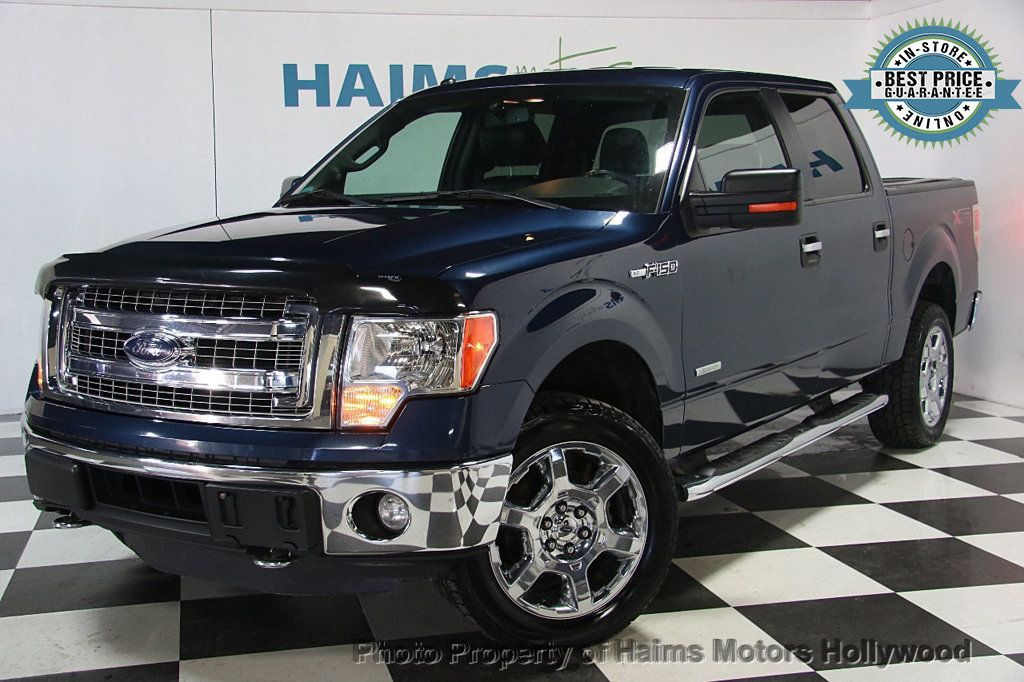 "2014 Ford F-150 4WD SuperCab 145"" XLT - 17114890 - 0"