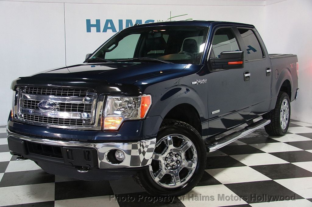 "2014 Ford F-150 4WD SuperCab 145"" XLT - 17114890 - 1"