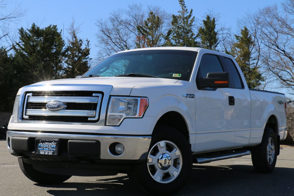 "2014 Ford F-150 4WD SuperCab 145"" XLT - 17403059 - 2"