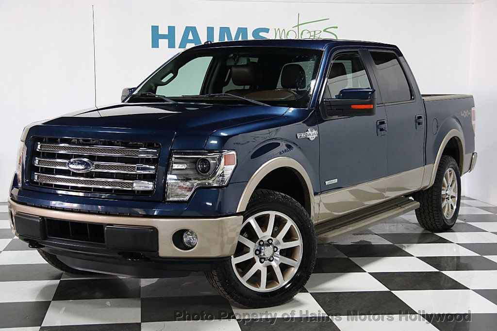 2014 used ford f 150 4wd supercrew 145 king ranch at. Black Bedroom Furniture Sets. Home Design Ideas