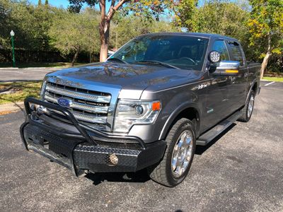 "2014 Ford F-150 4WD SuperCrew 145"" Lariat Truck"