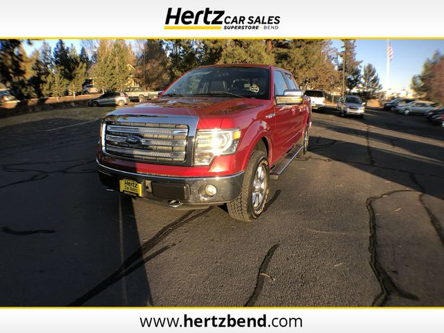 """2014 Used FORD F-150 4WD SuperCrew 145"""" Lariat at Hertz ..."""