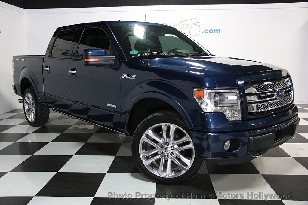 "2014 used ford f-150 4wd supercrew 145"" limited at haims motors"