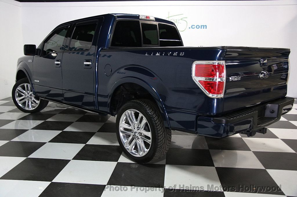 "2014 Ford F-150 4WD SuperCrew 145"" Limited - 16409179 - 3"