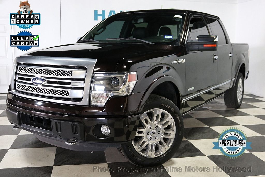 "2014 Ford F-150 4WD SuperCrew 145"" Platinum - 18065598 - 0"