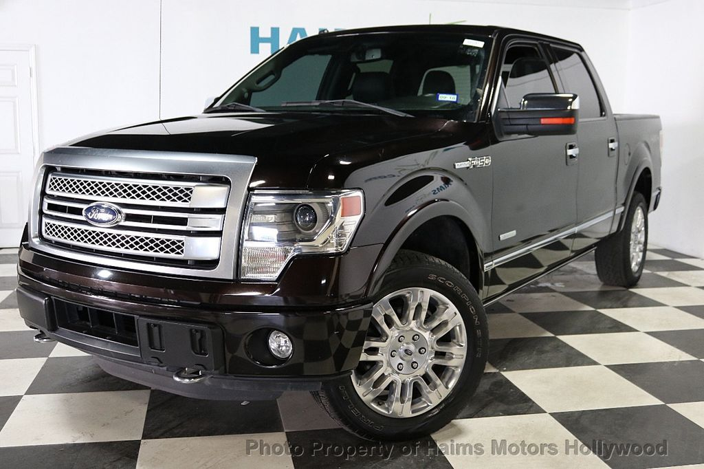 "2014 Ford F-150 4WD SuperCrew 145"" Platinum - 18065598 - 1"