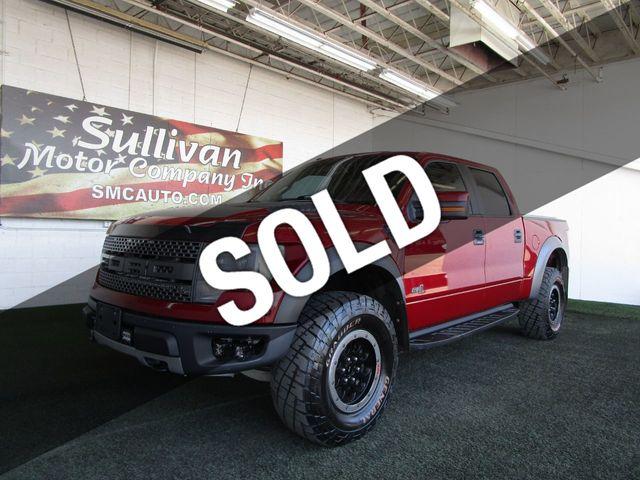 Used Ford Raptor >> 2014 Used Ford F 150 4wd Supercrew 145 Svt Raptor At Sullivan