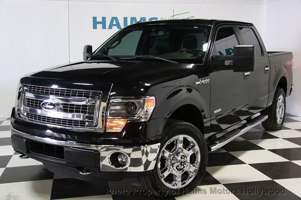 2014 used ford f 150 4wd supercrew 145 xlt at haims motors serving fort lauderdale hollywood. Black Bedroom Furniture Sets. Home Design Ideas