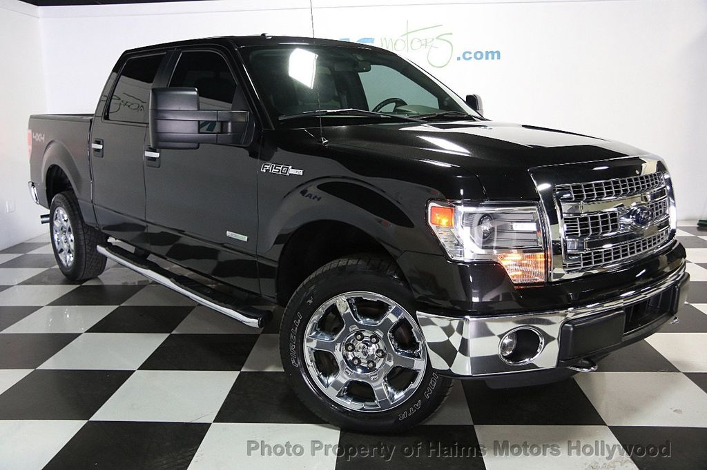 "2014 Ford F-150 4WD SuperCrew 145"" XLT - 16585199 - 2"