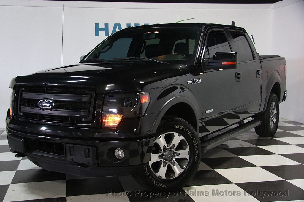 2014 used ford f 150 4wd supercrew 157 fx4 at haims motors serving fort lauderdale hollywood. Black Bedroom Furniture Sets. Home Design Ideas
