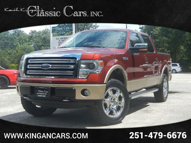 2014 Ford F-150 4WD Super Crew Lariat w/NAVIGATION