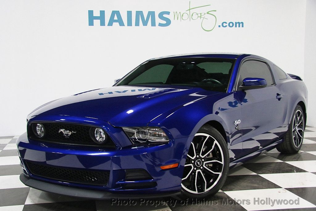 2014 used ford mustang 2dr coupe gt at haims motors serving fort lauderdale hollywood miami. Black Bedroom Furniture Sets. Home Design Ideas