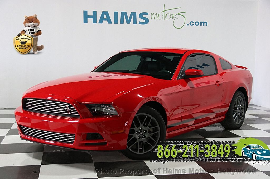 2014 Used Ford Mustang 2dr Coupe V6 At Haims Motors Ft