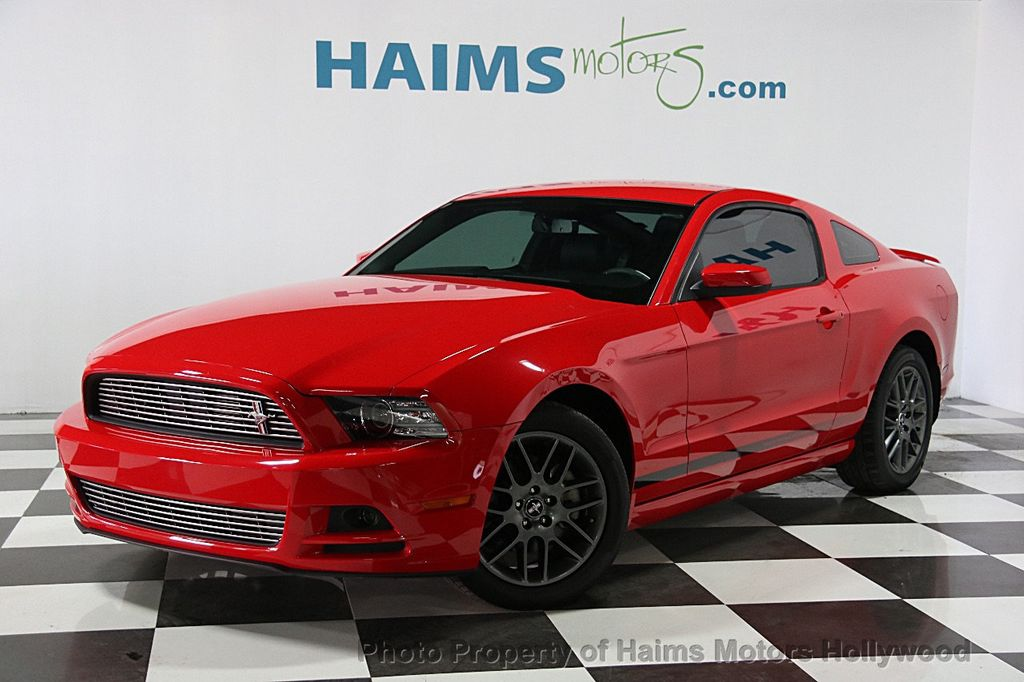 2014 used ford mustang 2dr coupe v6 at haims motors serving fort lauderdale hollywood miami. Black Bedroom Furniture Sets. Home Design Ideas