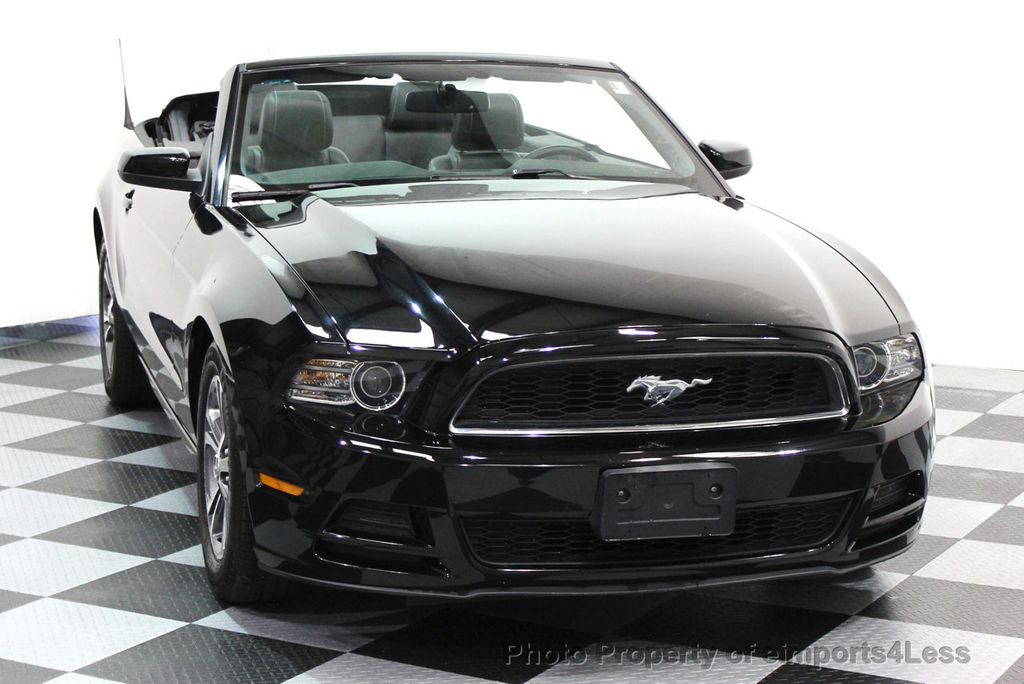 2014 Ford Mustang CERTIFIED MUSTANG V6 PREMIUM CONVERTIBLE - 16237489 - 13